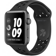 Apple Watch Series 2 Nike+ 38mm Space Gray Aluminum Case with Anthracite/Black Nike Sport Band (MQ162)