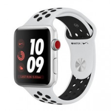 Apple Watch Series 3 Nike+ (GPS + LTE) 38mm Silver Aluminum w. Pure Platinum/BlackSport B. (MQM72)