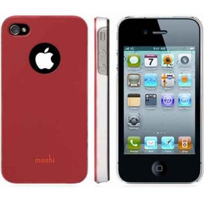 Moshi iGlaze 4,4S пластиковый чехол красный