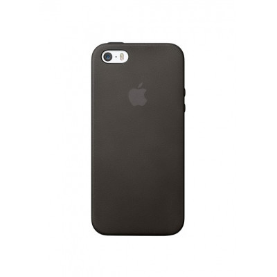 """APPLE LEATHER CASE"" BLACK (ORIGINAL COPY)  IPHONE 5/5S/SE"