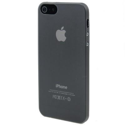 Ультратонкий Матовый Черный Чехол 0.3mm для iPhone 5/ 5s/ SE