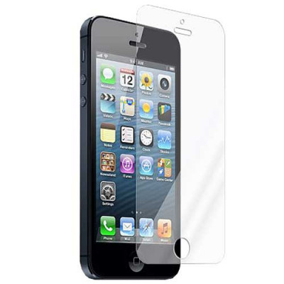 Защитная плёнка прозрачная для iPhone 5, 5S